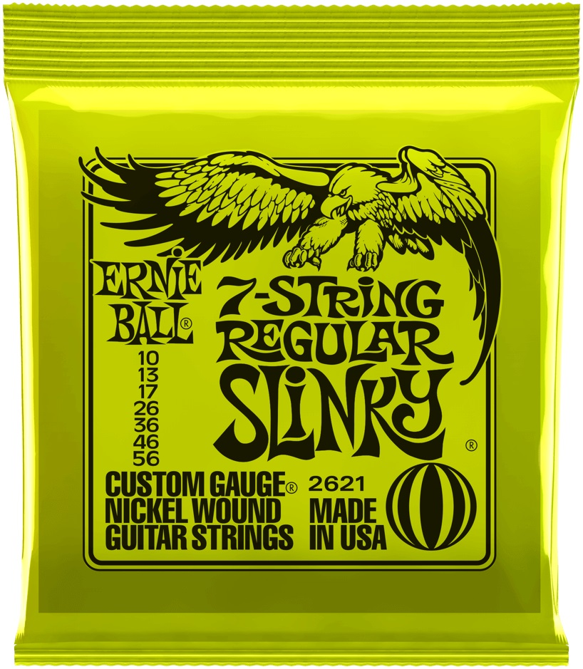 Ernie Ball Nickel Wound 7-String Regular Slinky