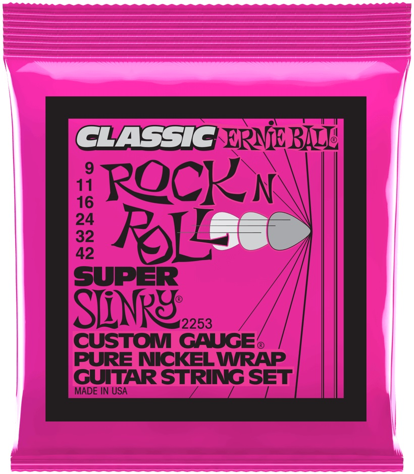 Ernie Ball Pure Nickel Super Slinky