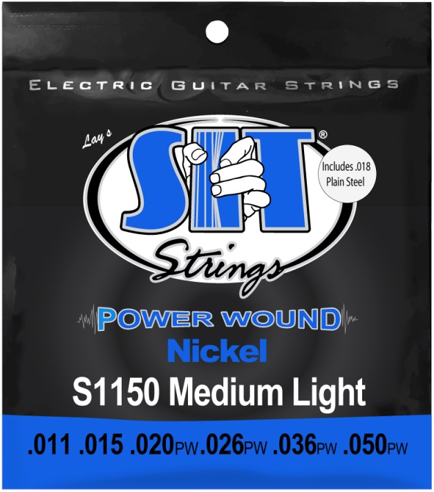SIT Power Wound Medium Light 11-50