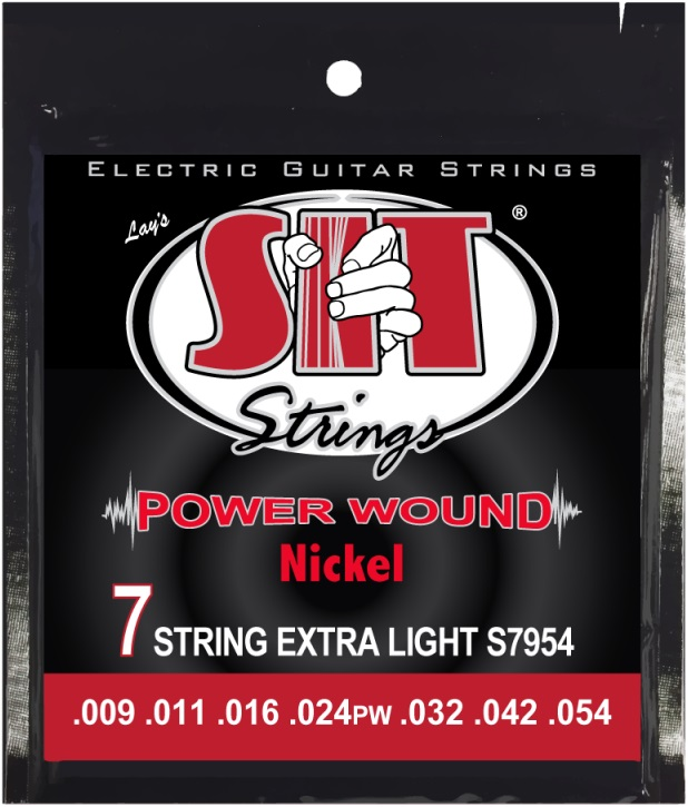 SIT Power Wound 7string Light 9-54