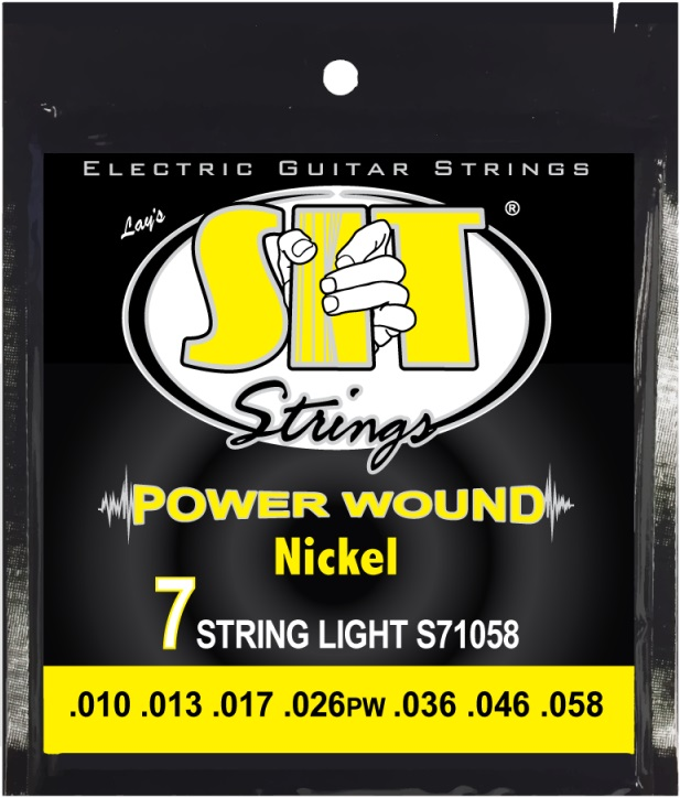 SIT Power Wound 7string Medium 10-58