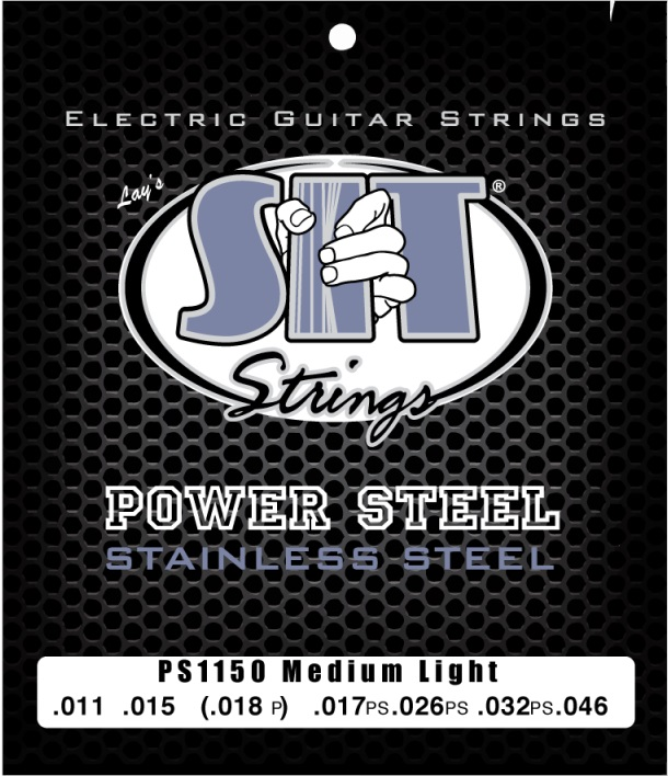 SIT Power Steel Med Light 11-50