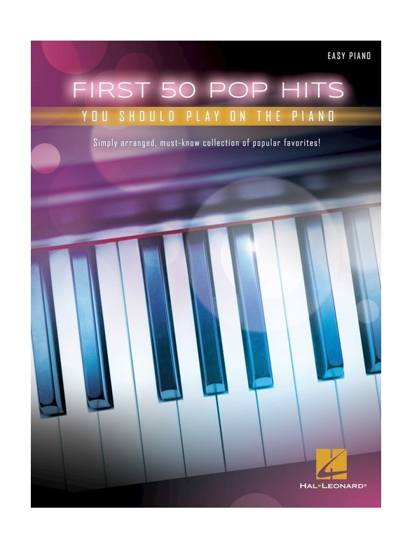 MS First 50 Pop Hits You Should Play On The Piano