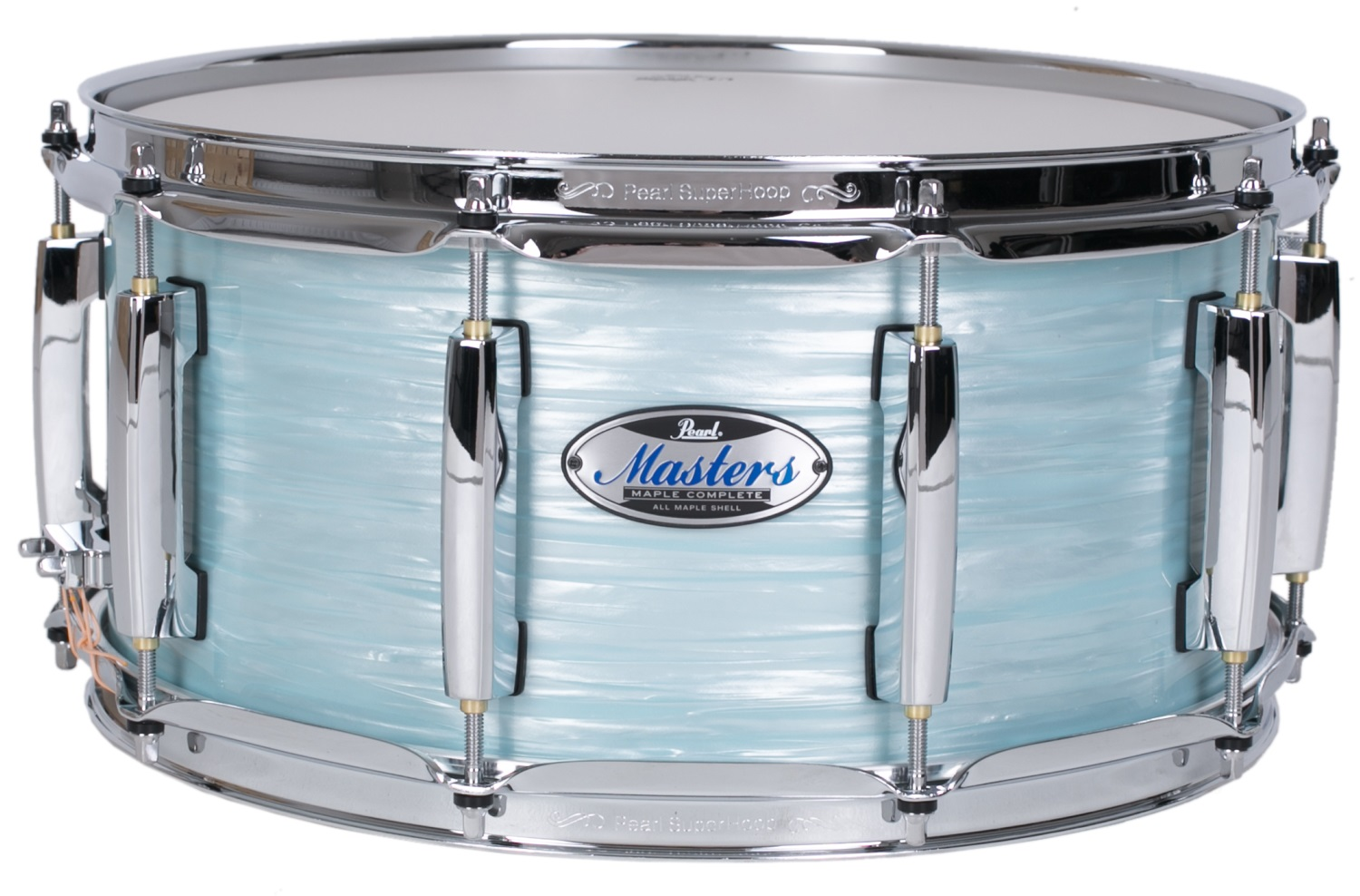 "Fotografie Pearl 14"" x 6,5"" MCT Masters Ice Blue Oyster Limited Edition"