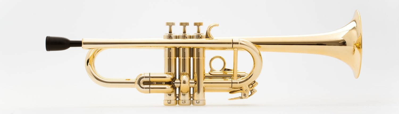Tromba C Trumpet Gold Metal