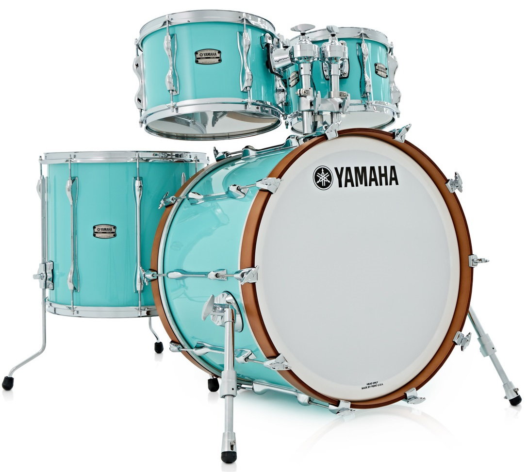 Yamaha Recording Custom Surf Green Fusion Set