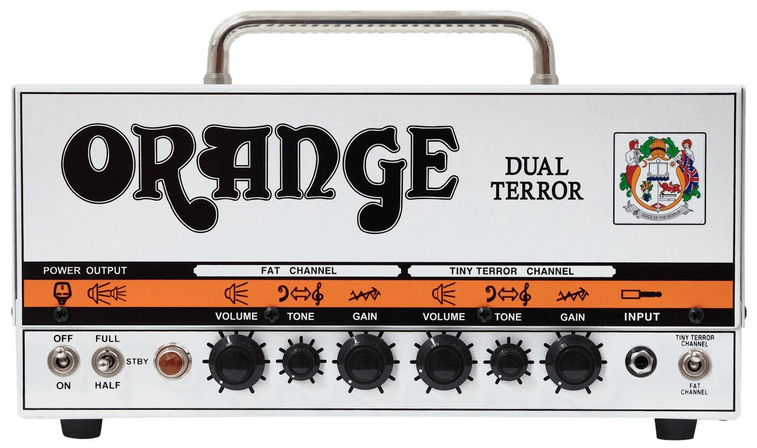 Fotografie Orange Dual Terror