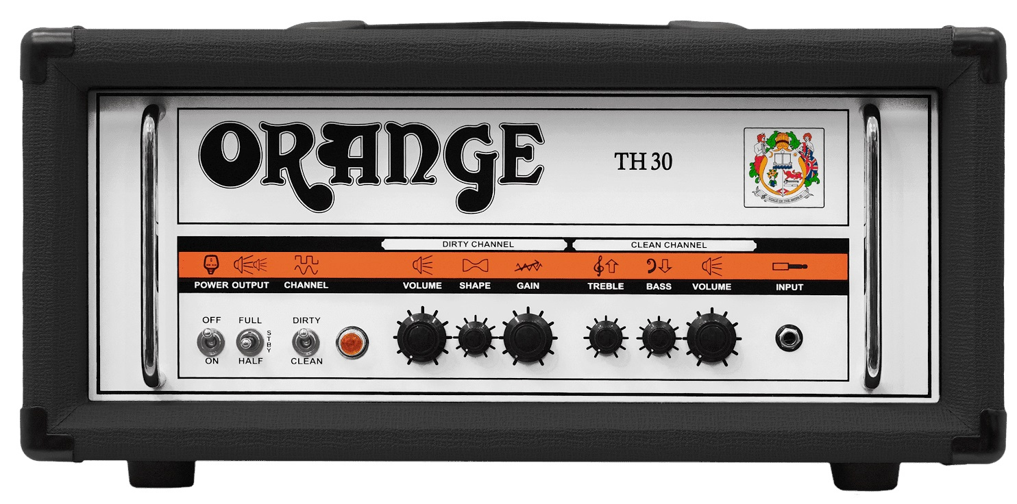 Orange TH30 Black