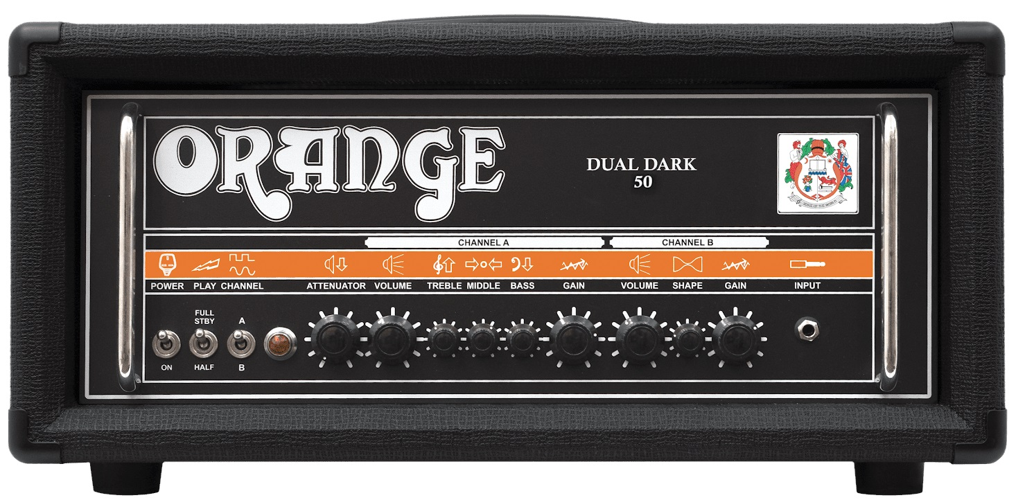 Fotografie Orange Dual Dark 50