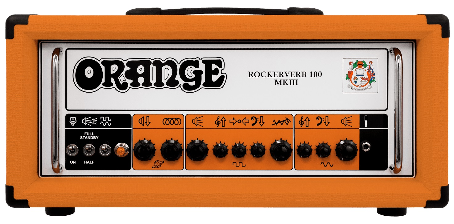 Fotografie Orange Rockerverb 100H-MkIII
