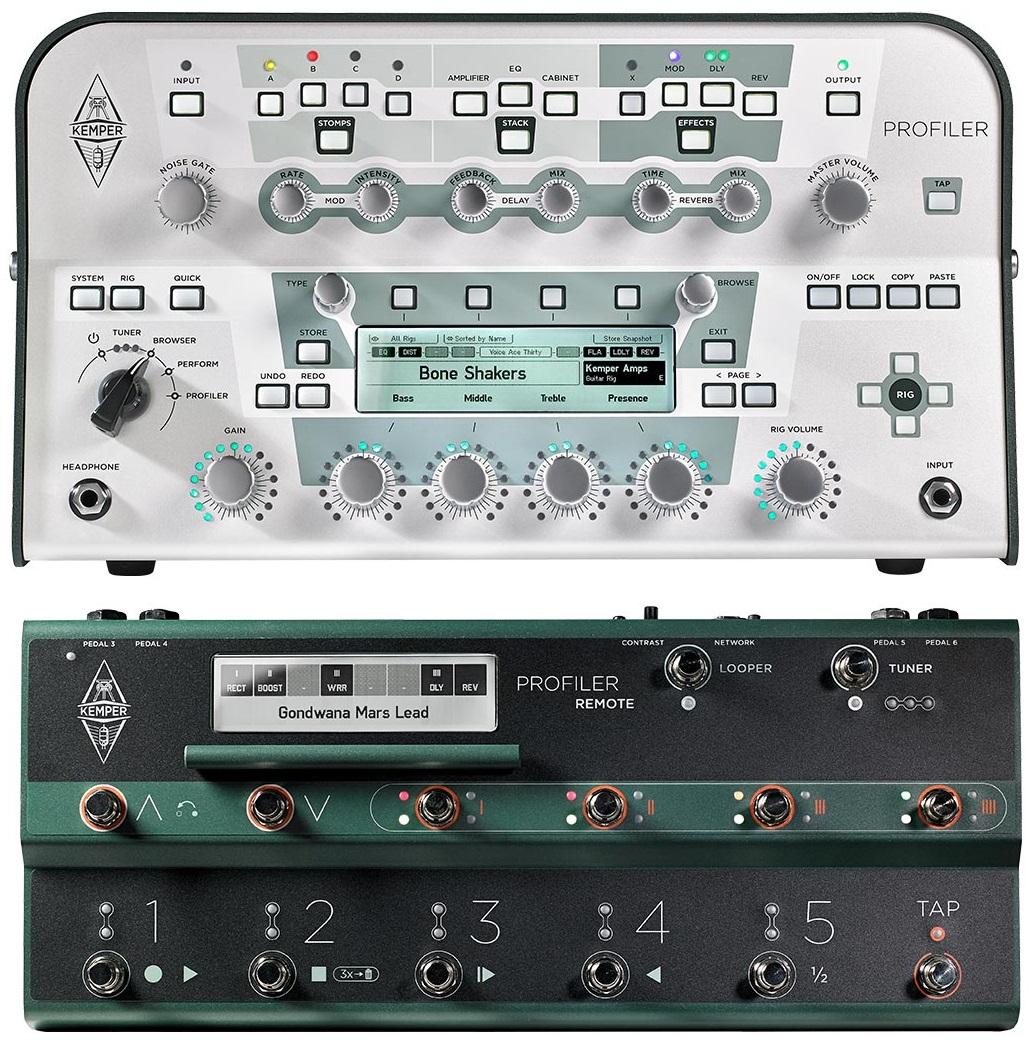 Kemper Profiler Head White + Profiler Remote