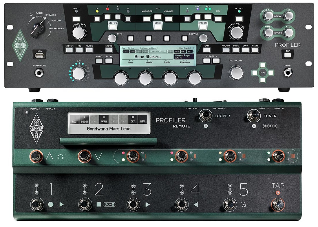 Kemper Profiler PowerRack + Profiler Remote