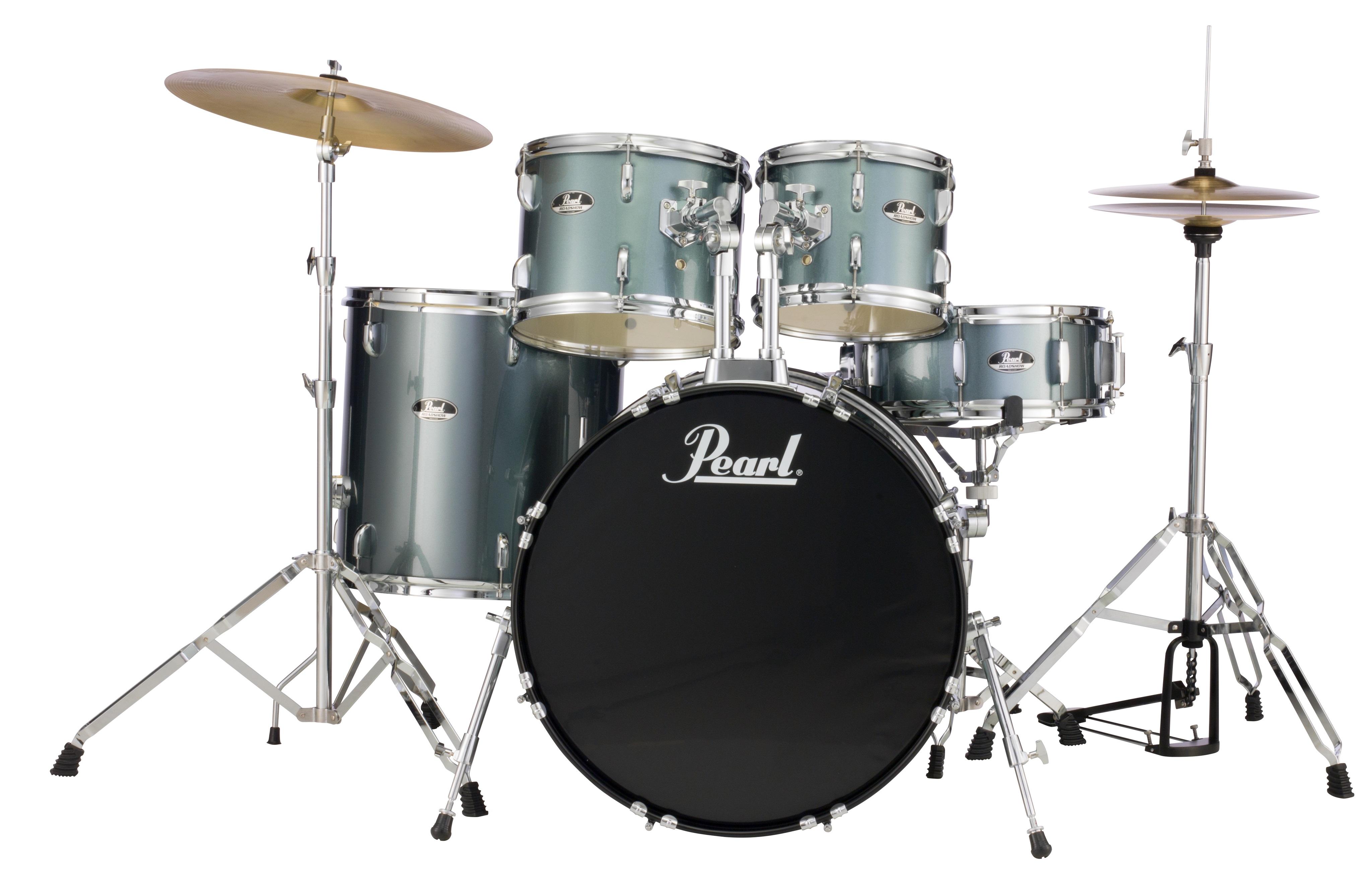 Pearl Roadshow Studio set Charcoal Metallic