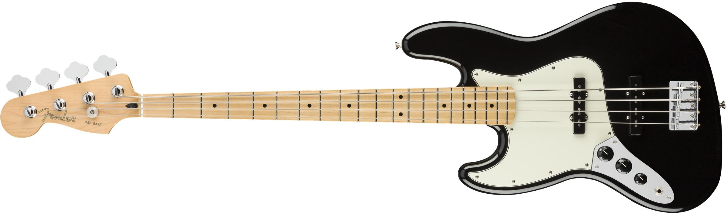 Fender PLAYER JAZZ BASS LH MN BLK