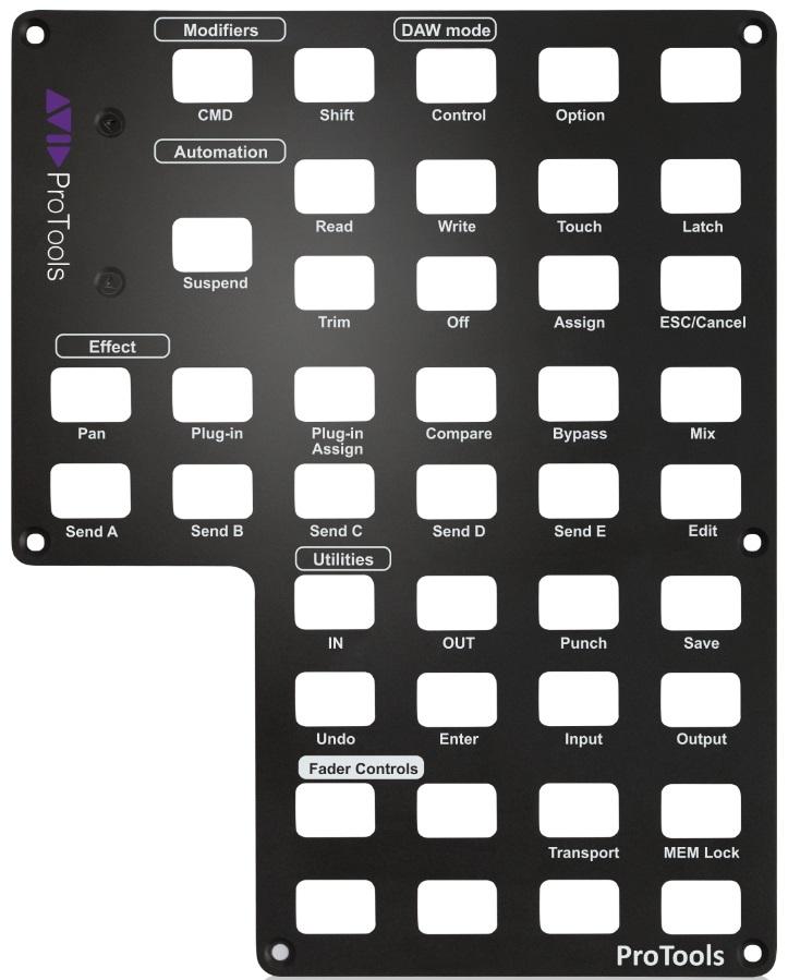Icon Qcon Pro X Panel Pro Tools