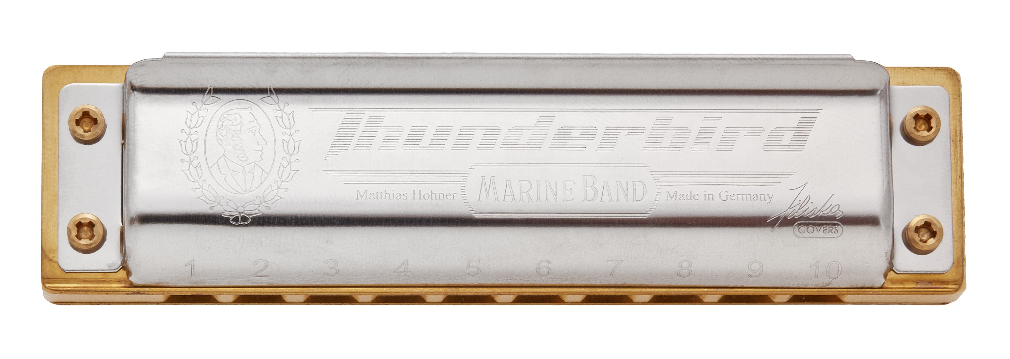 Hohner Marine Band Thunderbird A-major, low octave