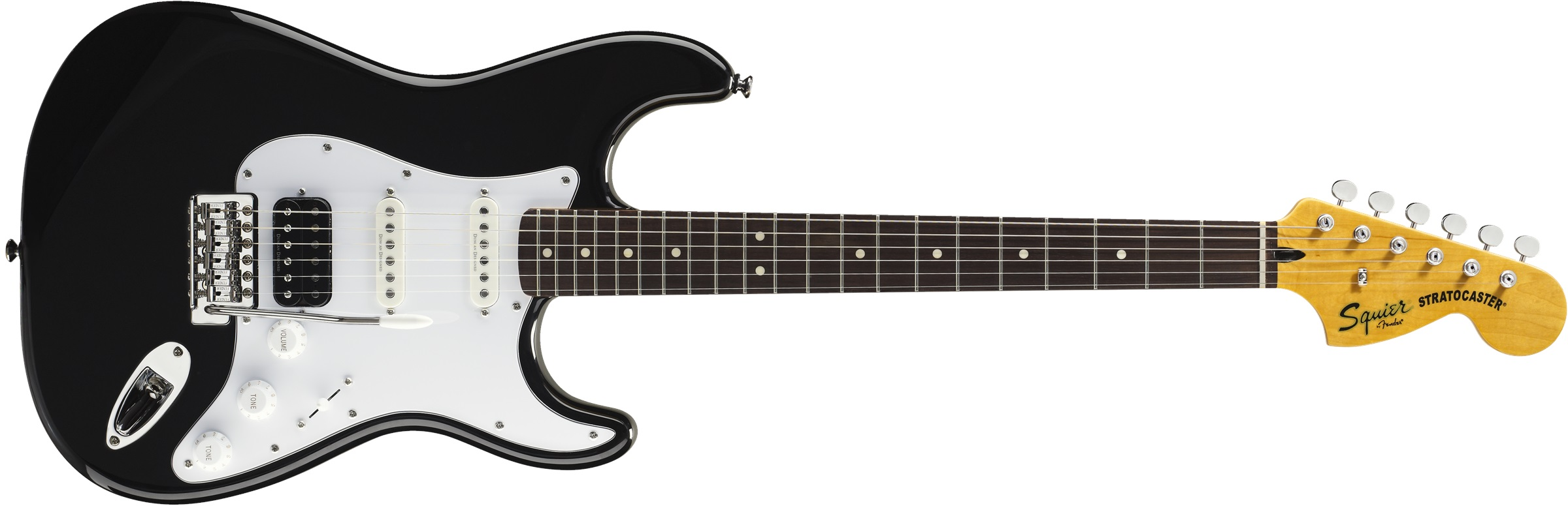 Fender Squier Vintage Modified Stratocaster HSS LRL BK