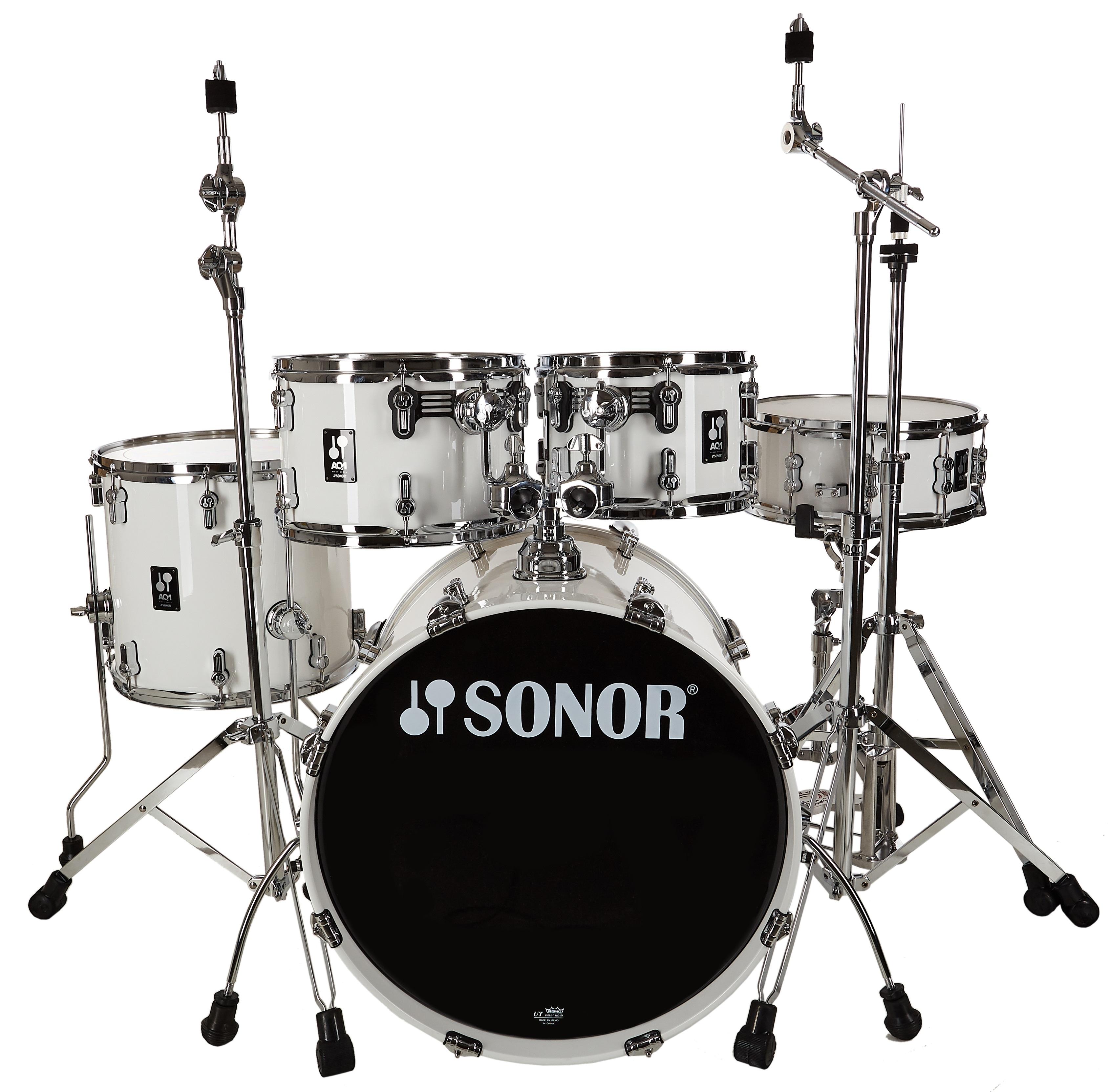 Sonor AQ1 Piano White Studio Set