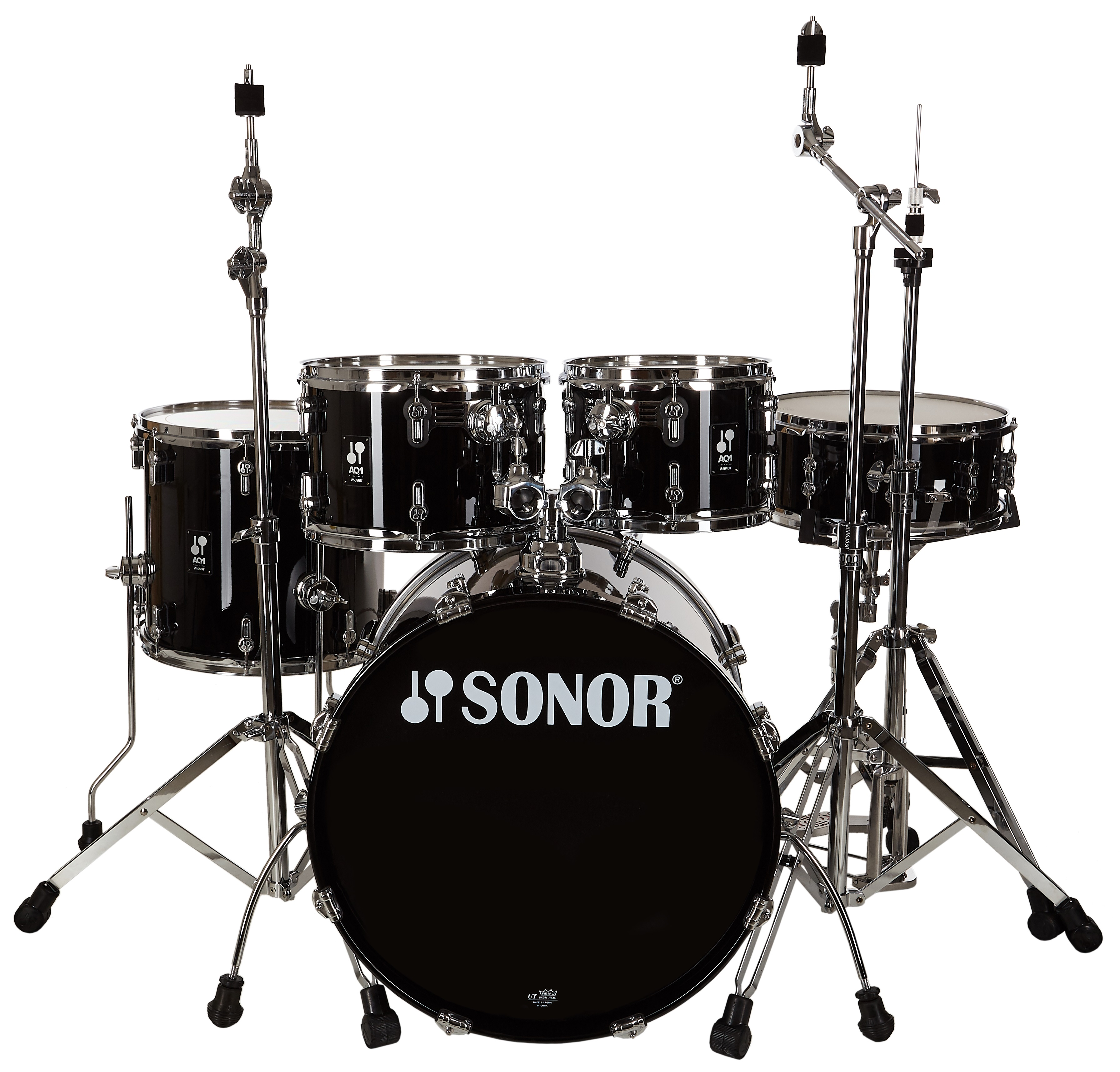 Sonor AQ1 Piano Black Studio Set
