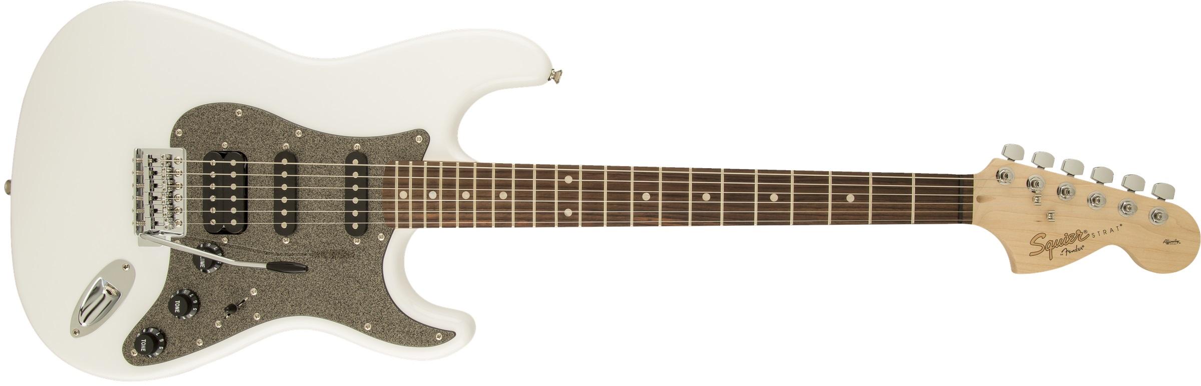 Fender Squier Affinity Stratocaster HSS LRL OW