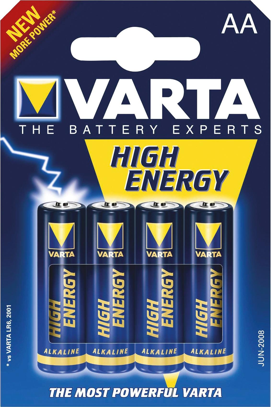 Varta High Energy AA