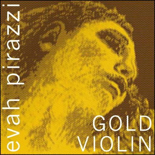 Pirastro Evah Pirazzi Gold Vln Set G-silver E-ball medium
