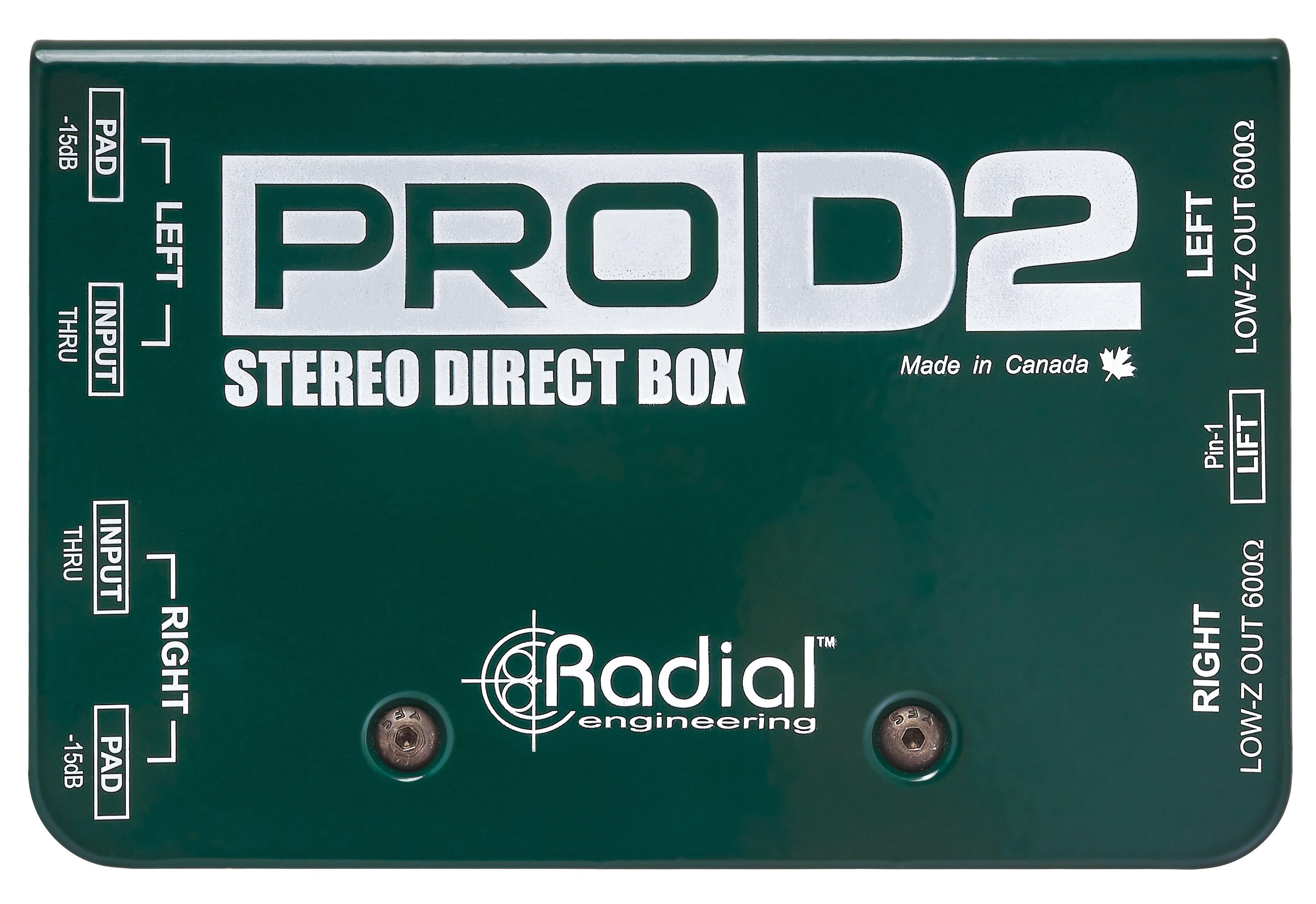 Radial Engineering ProD2