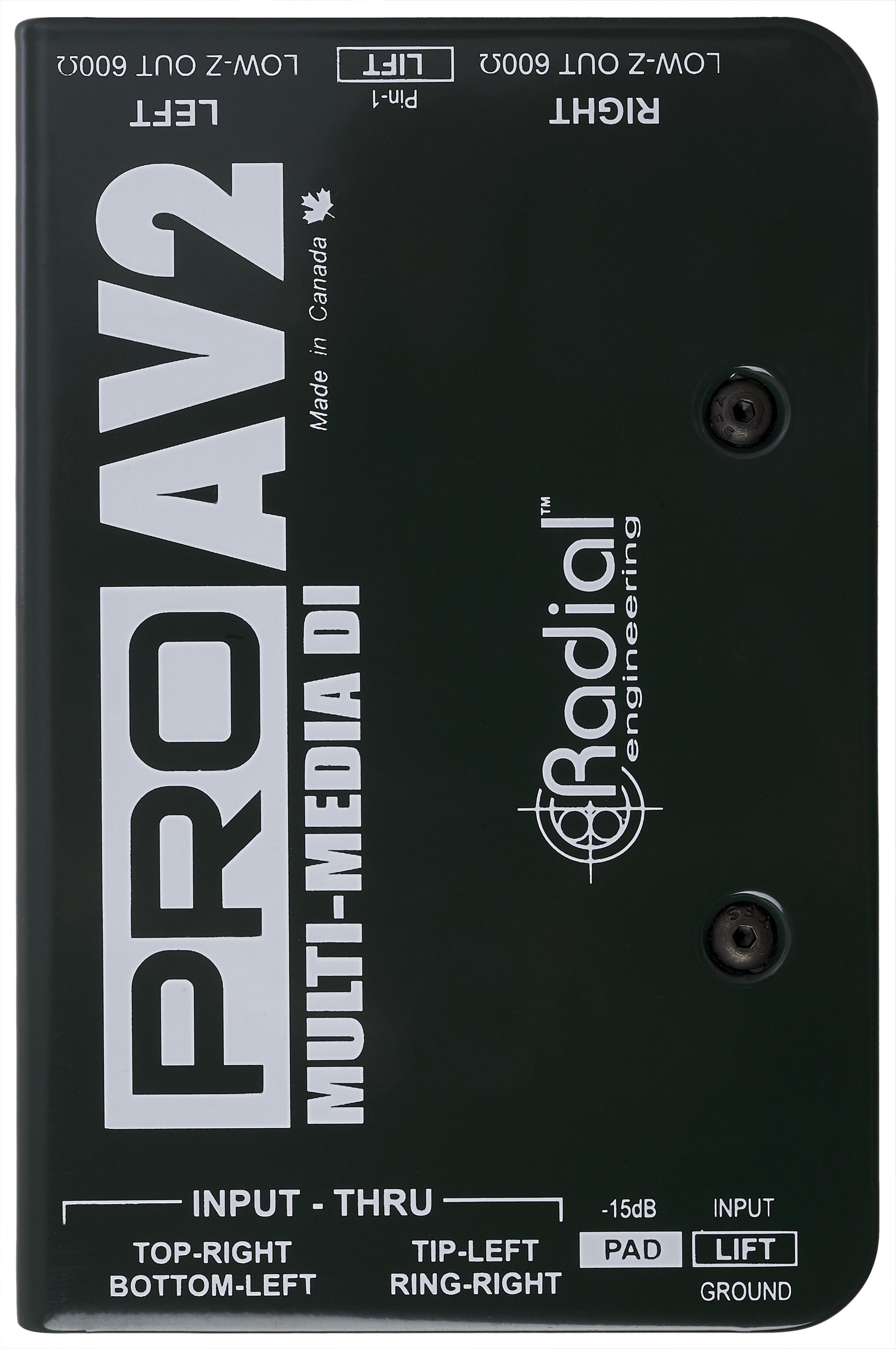 Radial Engineering ProAV2