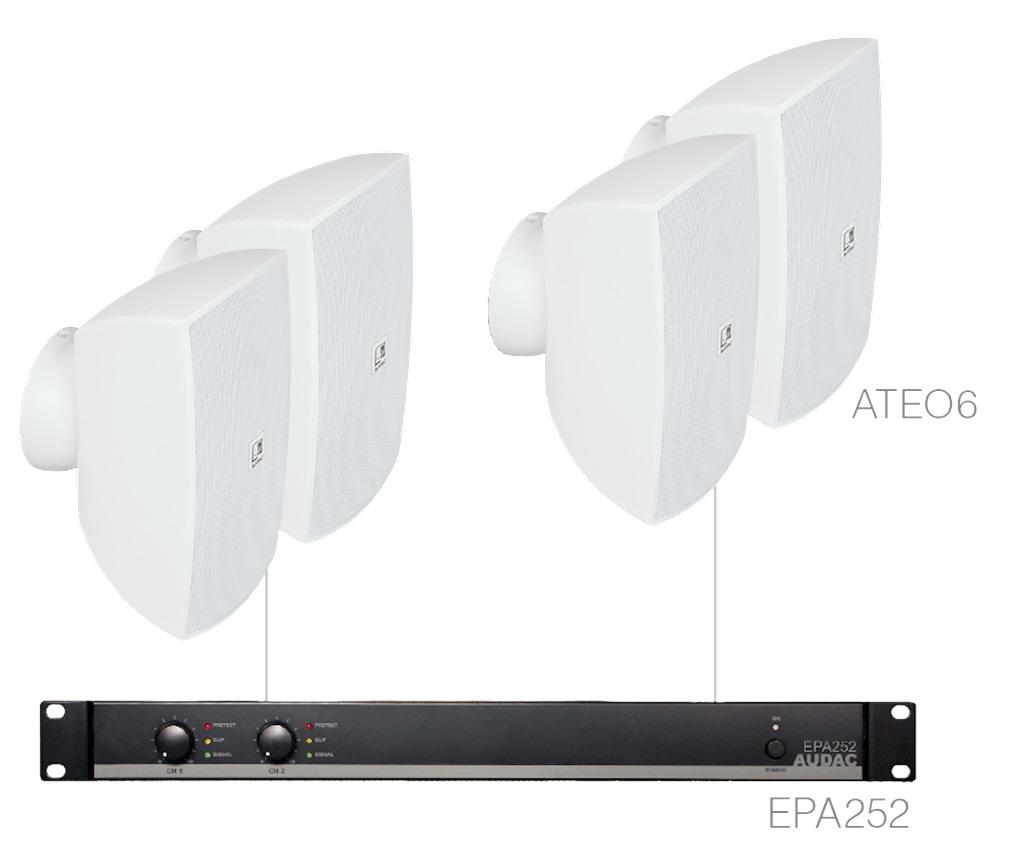 Audac FESTA6.4E/W