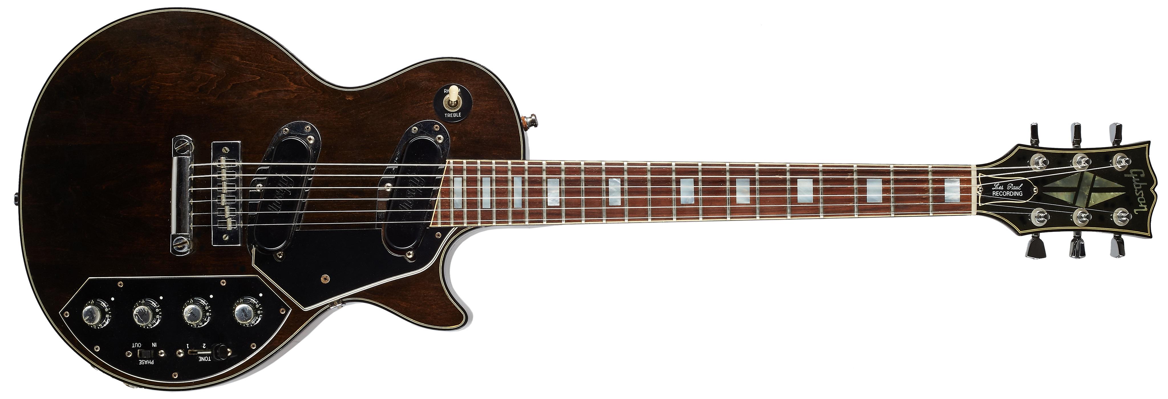 Gibson 1977 Les Paul Recording Walnut 100% Original