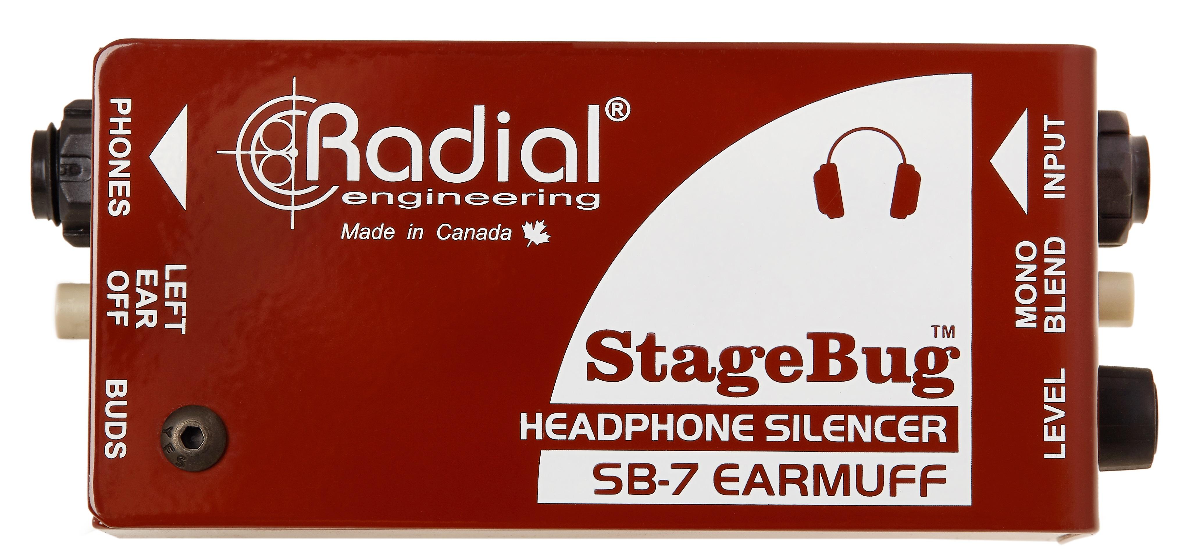 Radial Engineering StageBug SB-7 Ear Muff