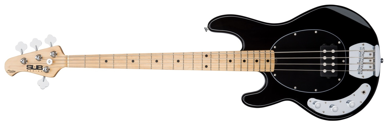 Sterling by Music Man SUB Ray4 Black Left Hand