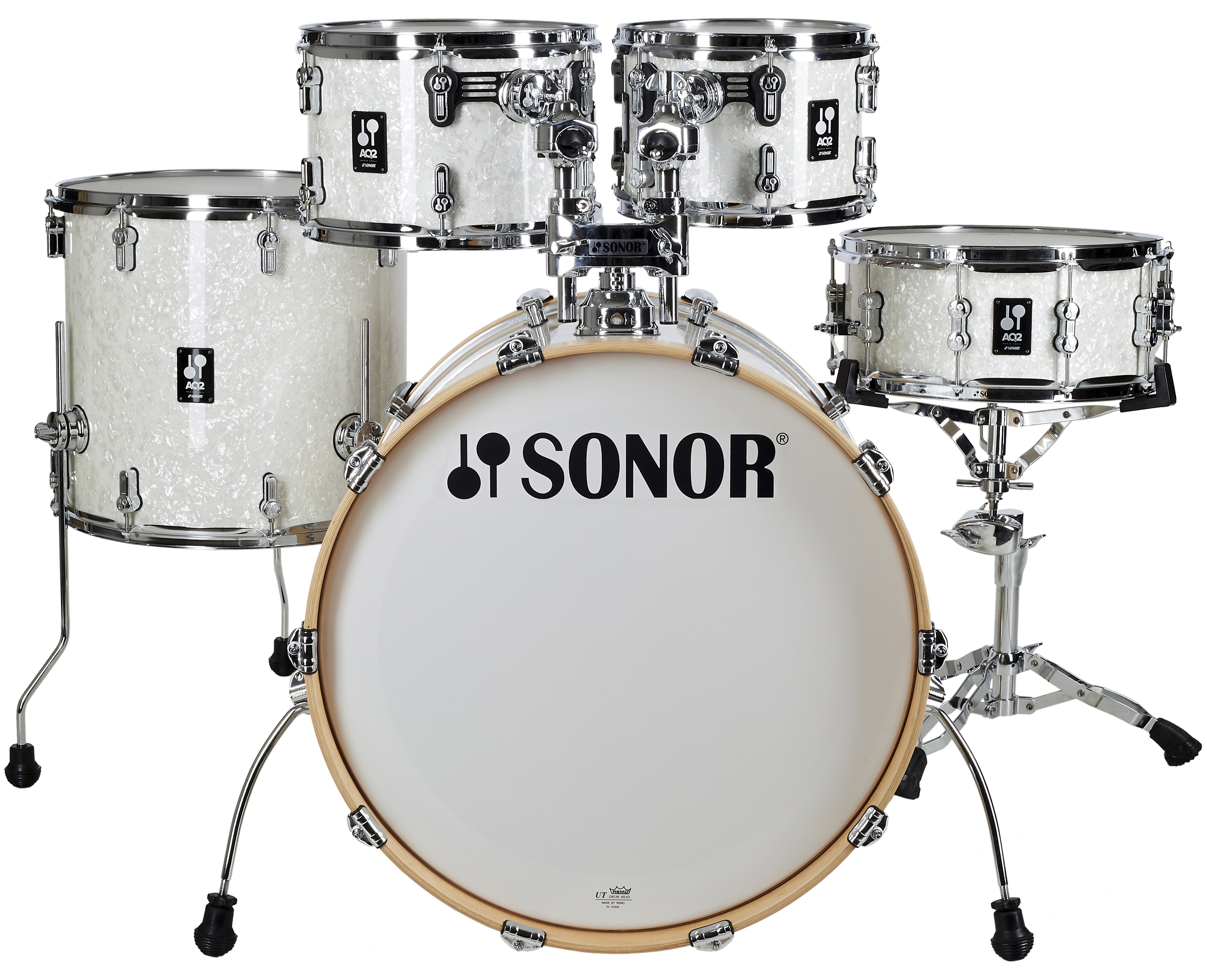 Sonor AQ 2 Stage Set White Pearl