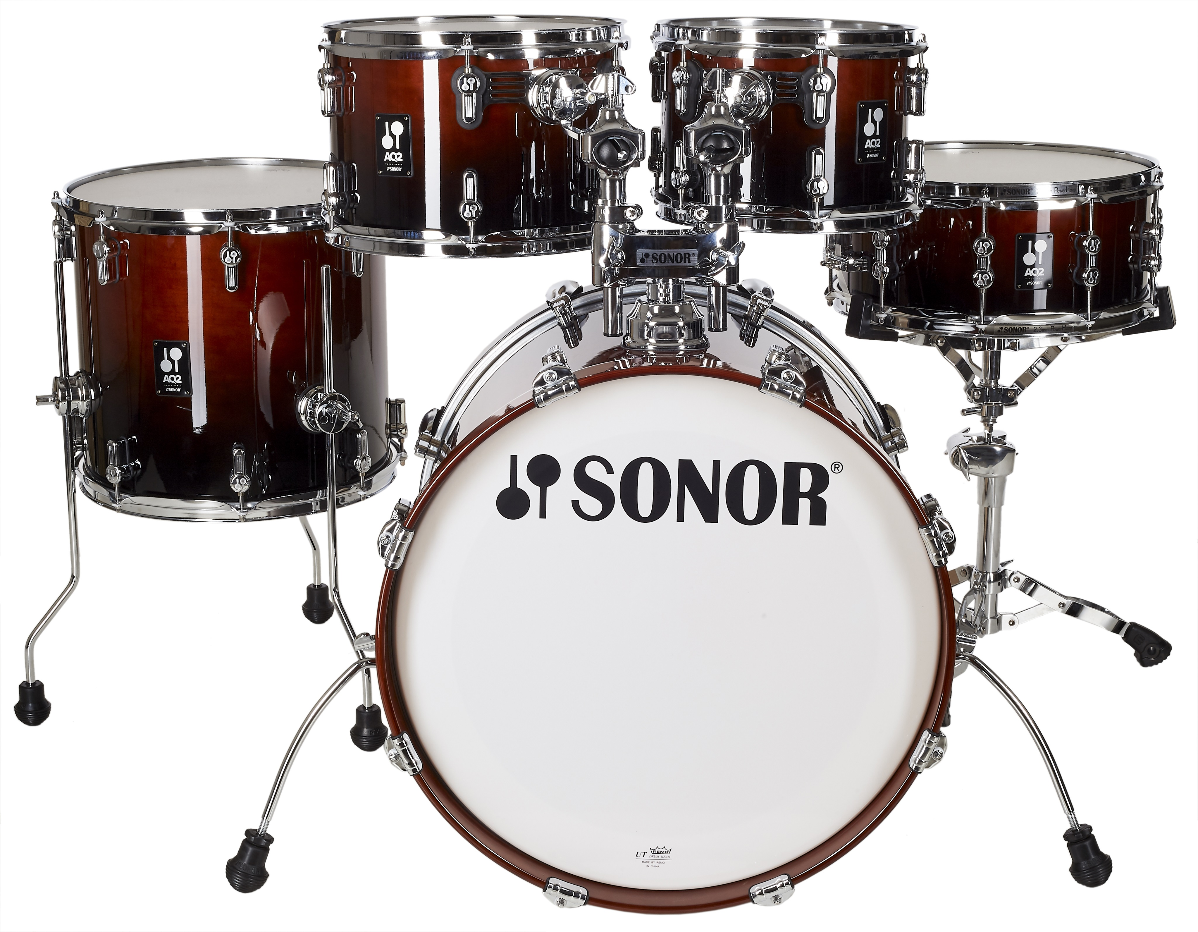 Sonor AQ 2 Studio Set Brown Fade