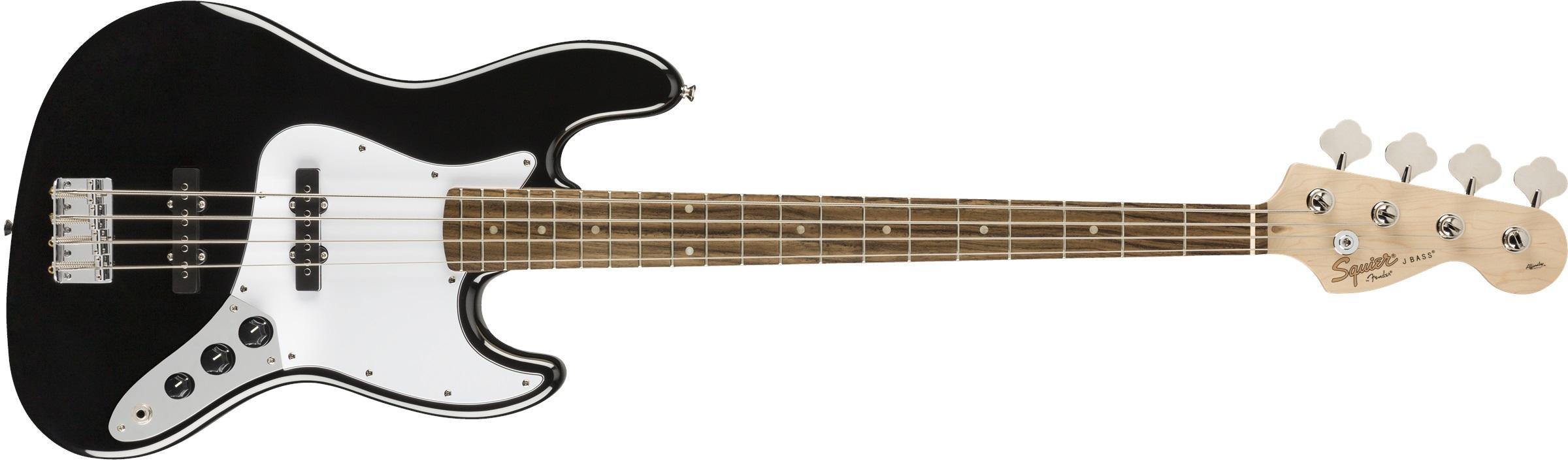 Fender Squier Affinity Jazz Bass LRL BK