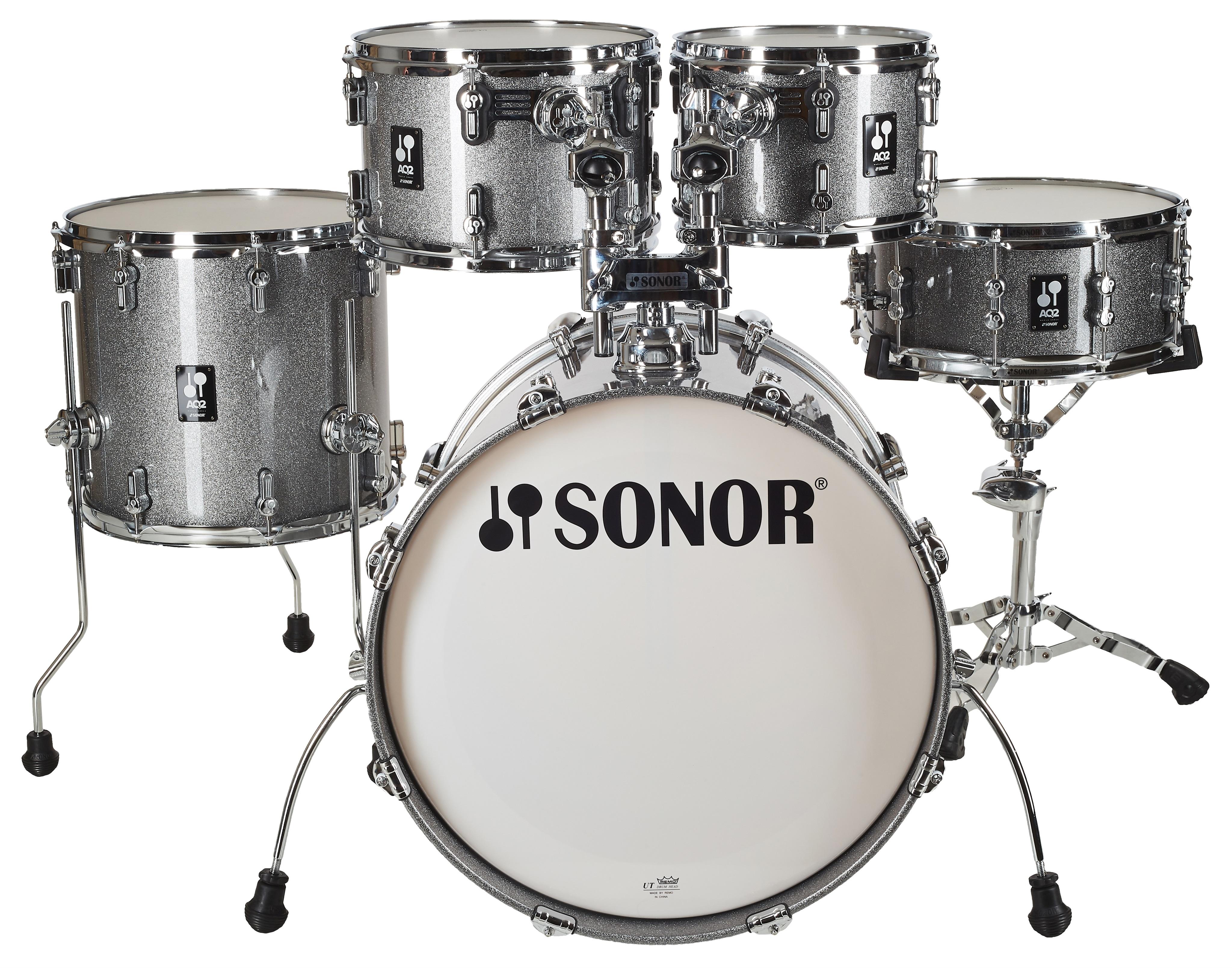 Sonor AQ 2 Stage Set Quartz Titanium