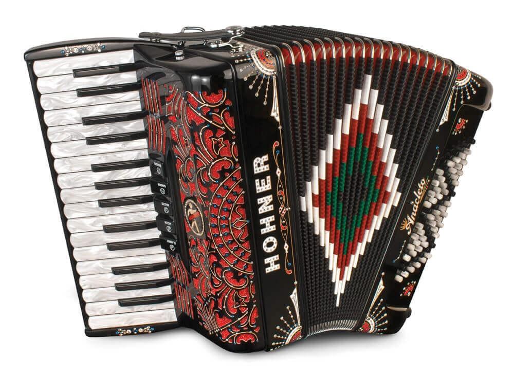 Hohner Latino III 72 Black