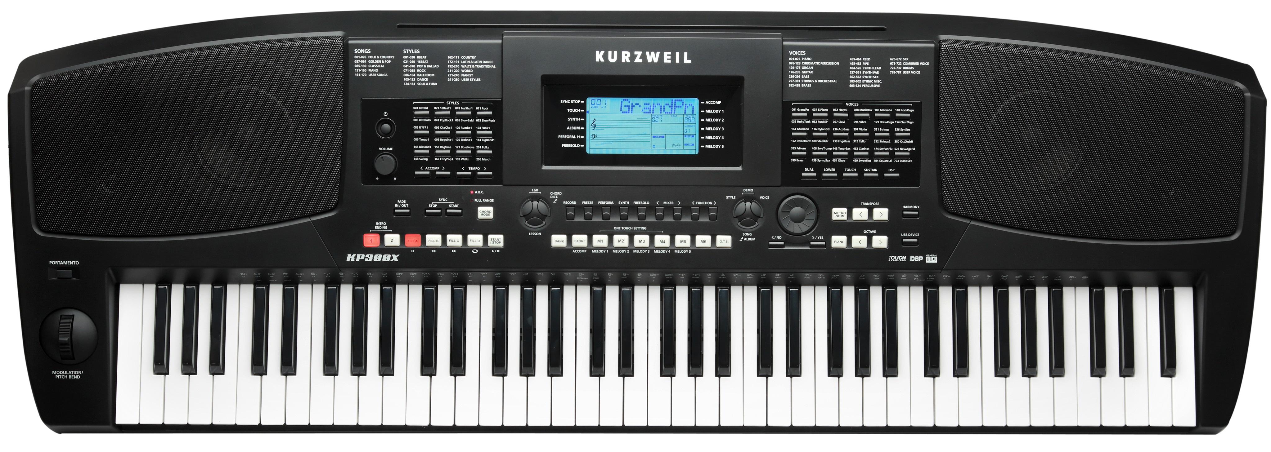 Kurzweil KP300 X (použité)