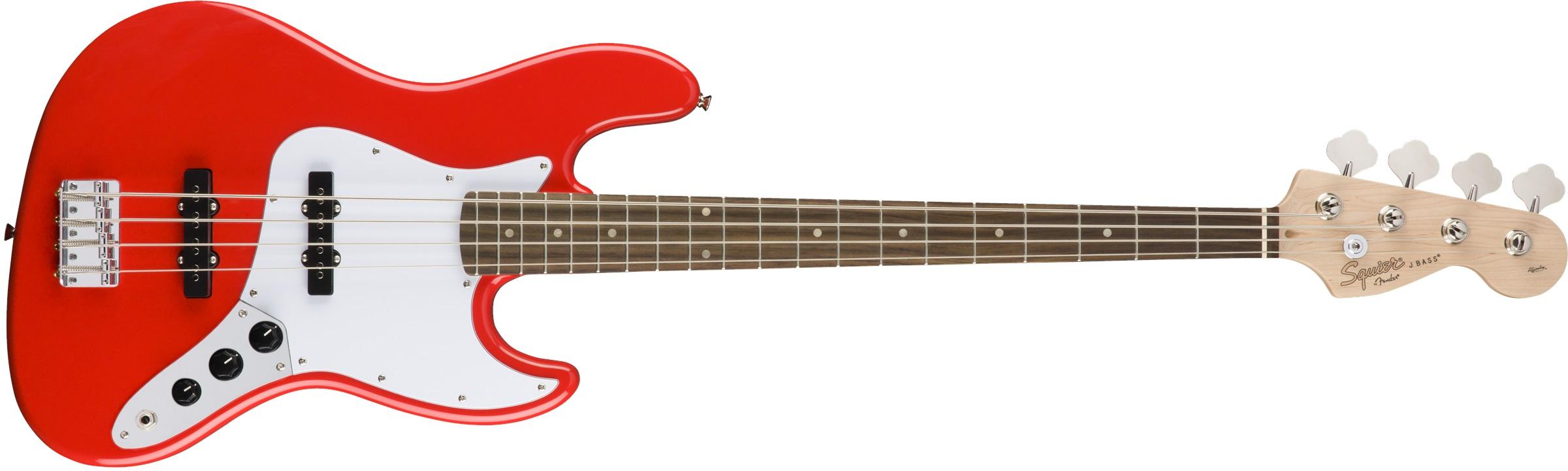 Fender Squier Affinity Jazz Bass LRL RCR