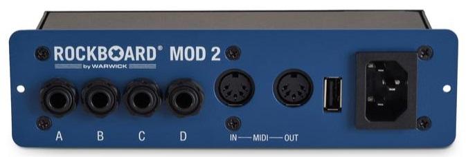Rockboard MOD 2 - All-in-one Patchbay - TS/TRS, MIDI & USB