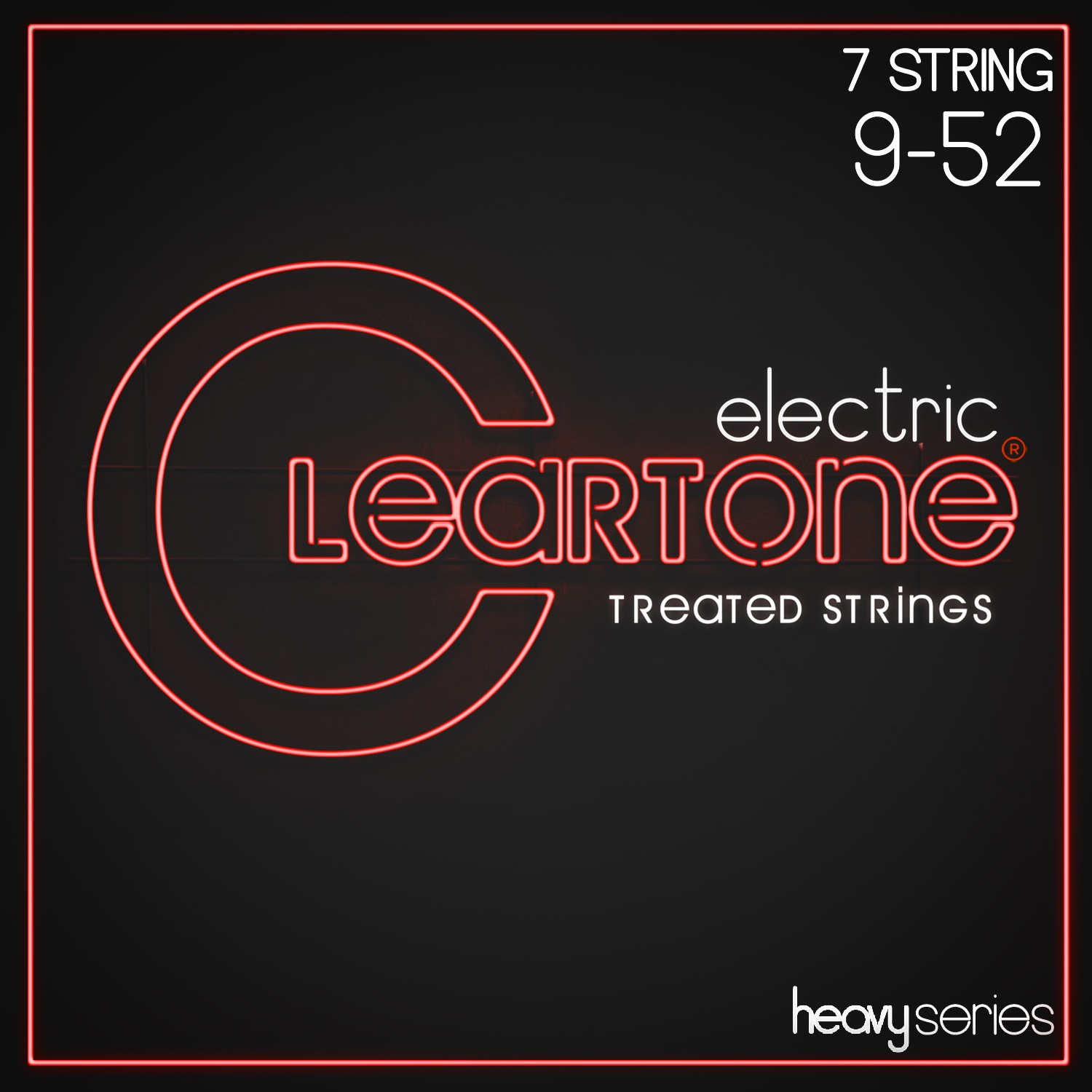 Cleartone Heavy Series 7-String 9-52