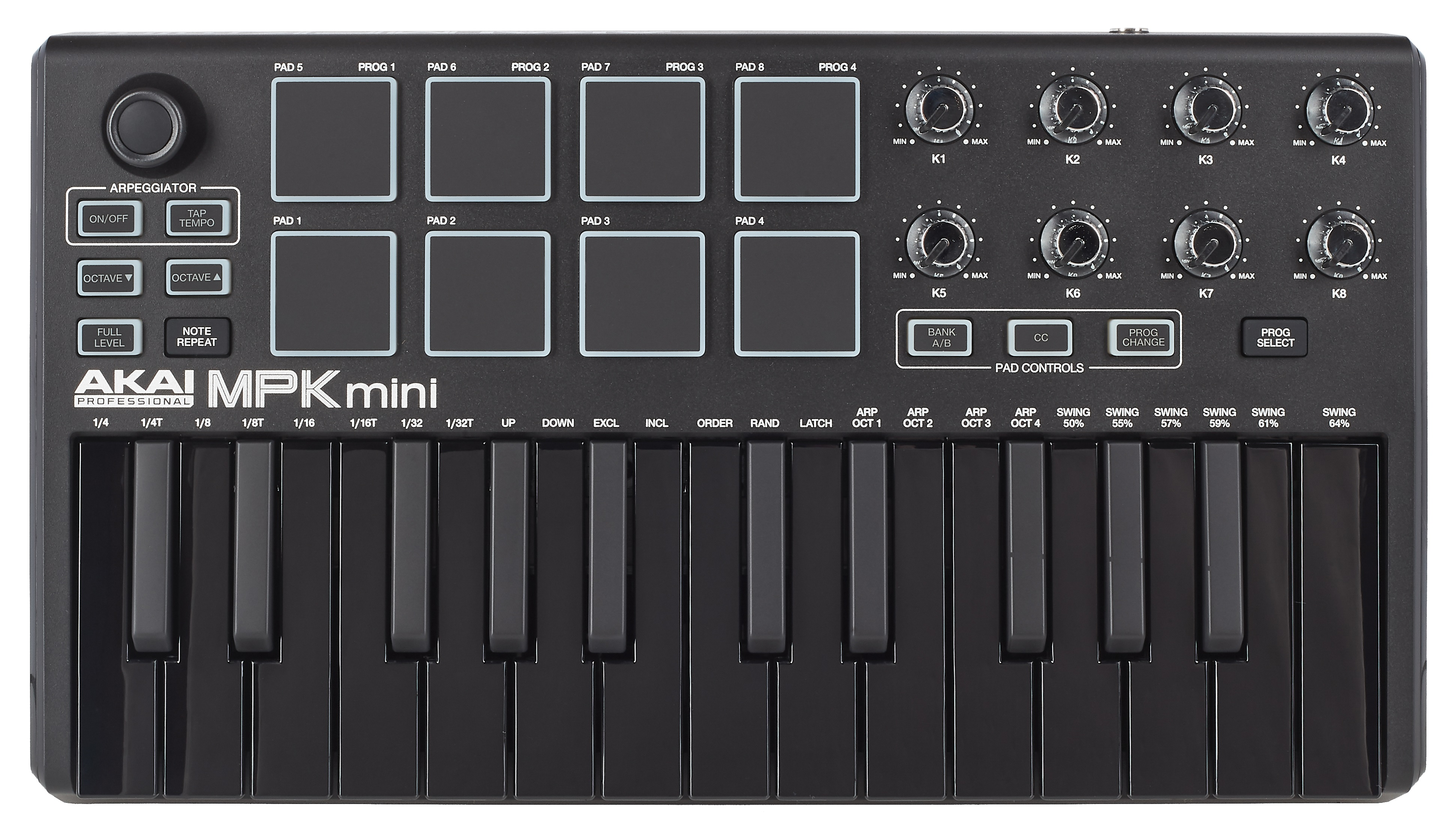 Akai MPK Mini mkII Black ltd. edition (použité)