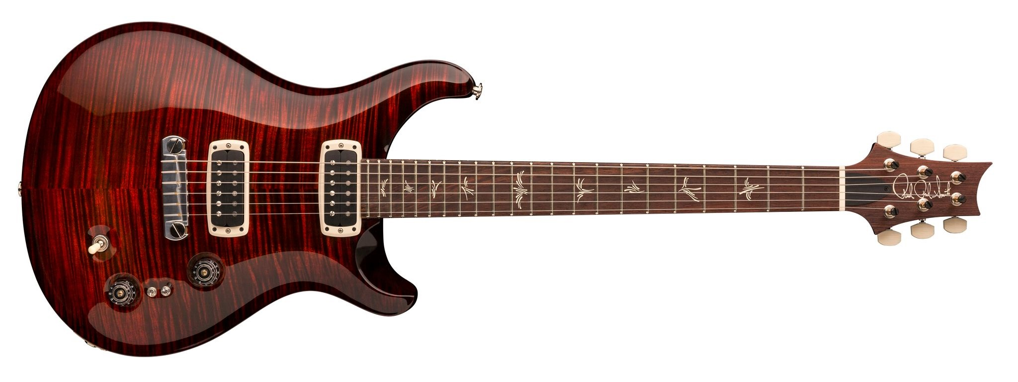 PRS Paul's Guitar Pattern Fire Red Burst