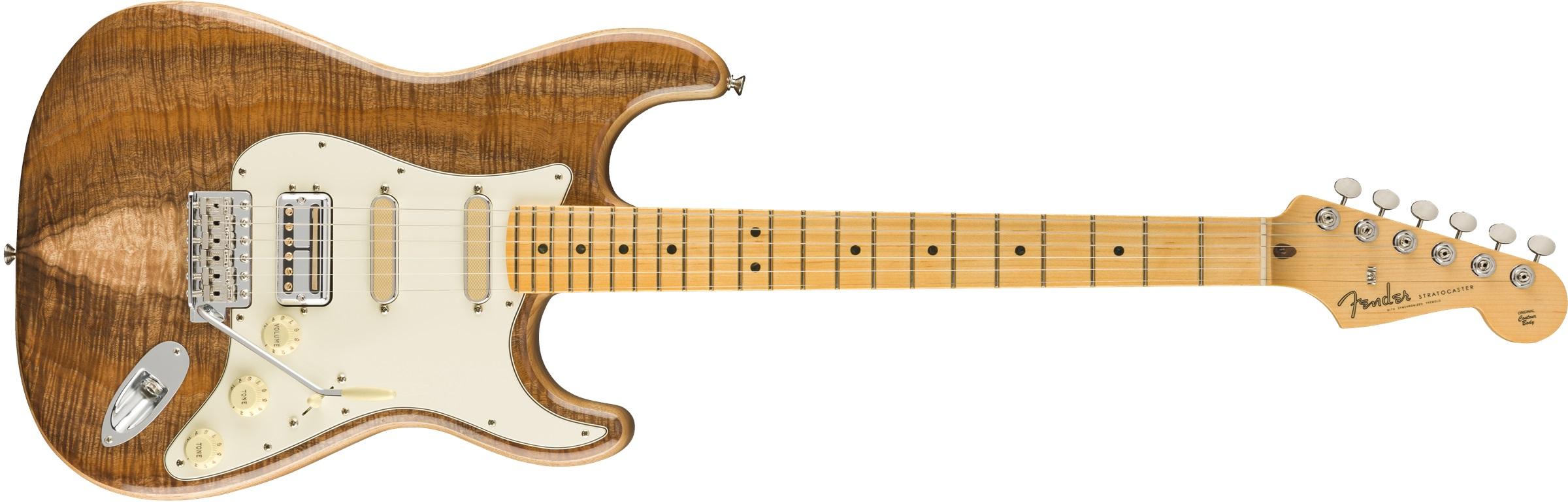 Fender Rarities Flame Koa Top Stratocaste MN NA