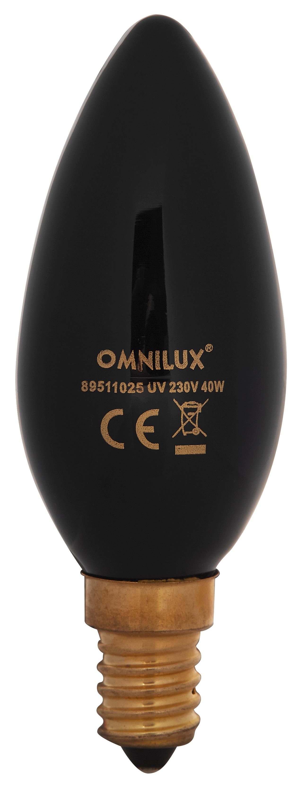 Omnilux UV 230V/40W E14 C35