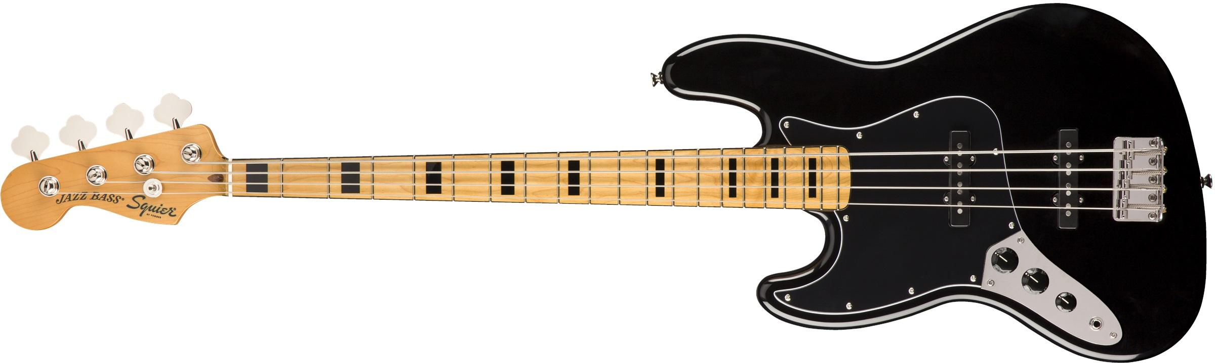 Fender Squier Classic Vibe '70s Jazz Bass® LH MFB BK