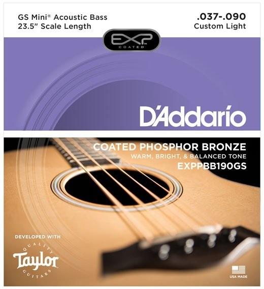 D'Addario EXP PBB 190 GS