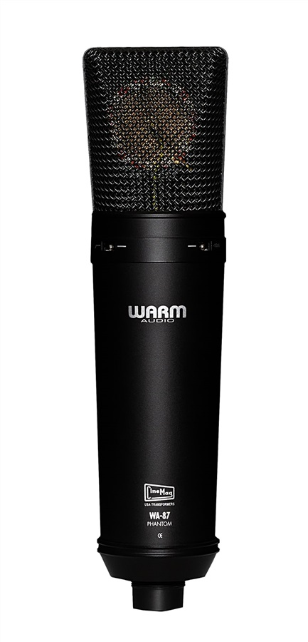 Warm Audio WA-87 BLACK