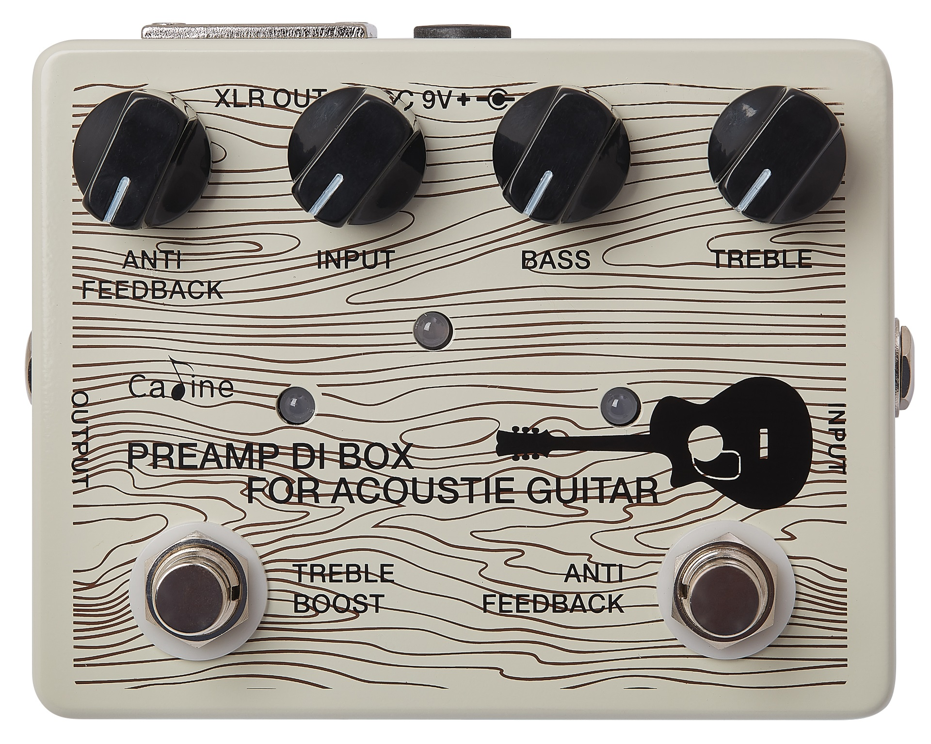 Caline CP-67 DI Box for Acoustic Guitars