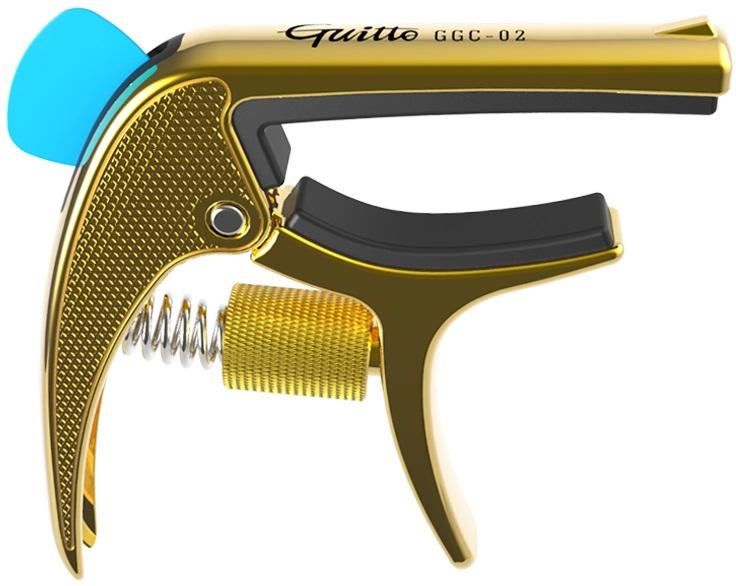 Guitto GGC-02 Revolver Capo Gold